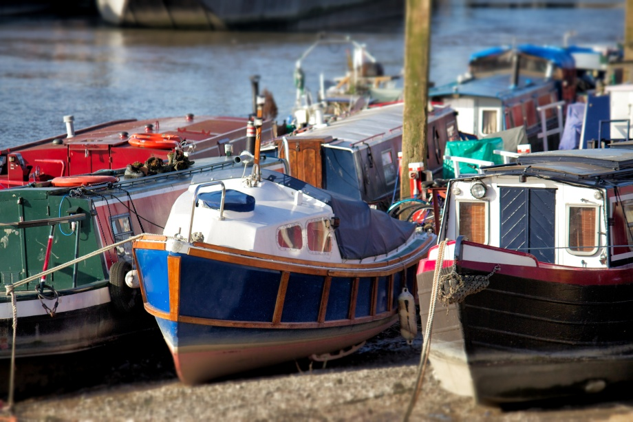 thames house boats