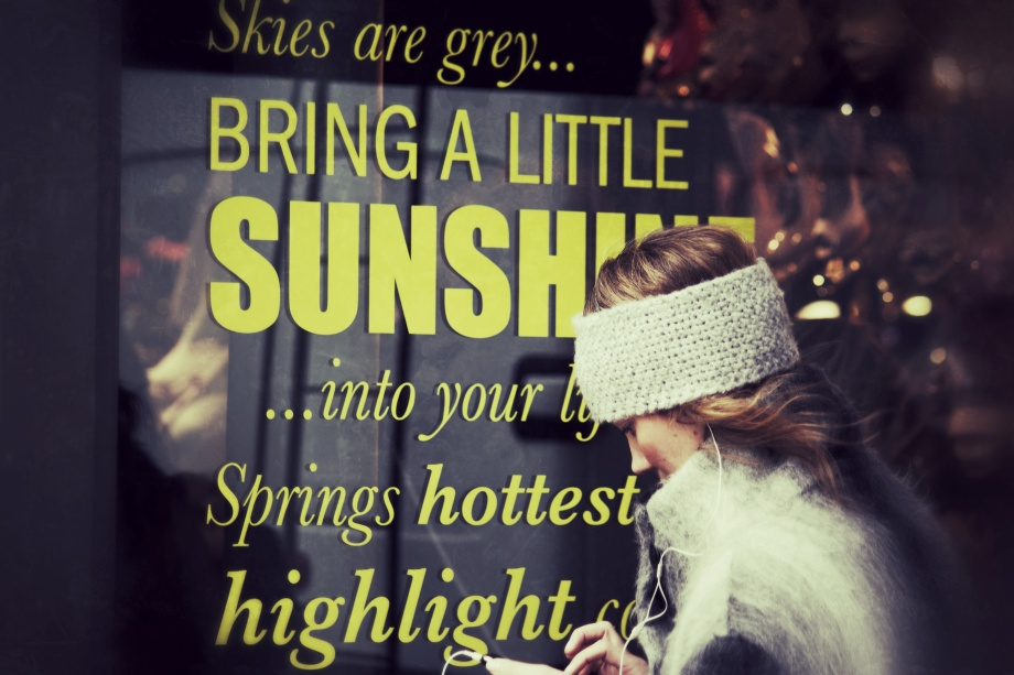 bring a little sunshine