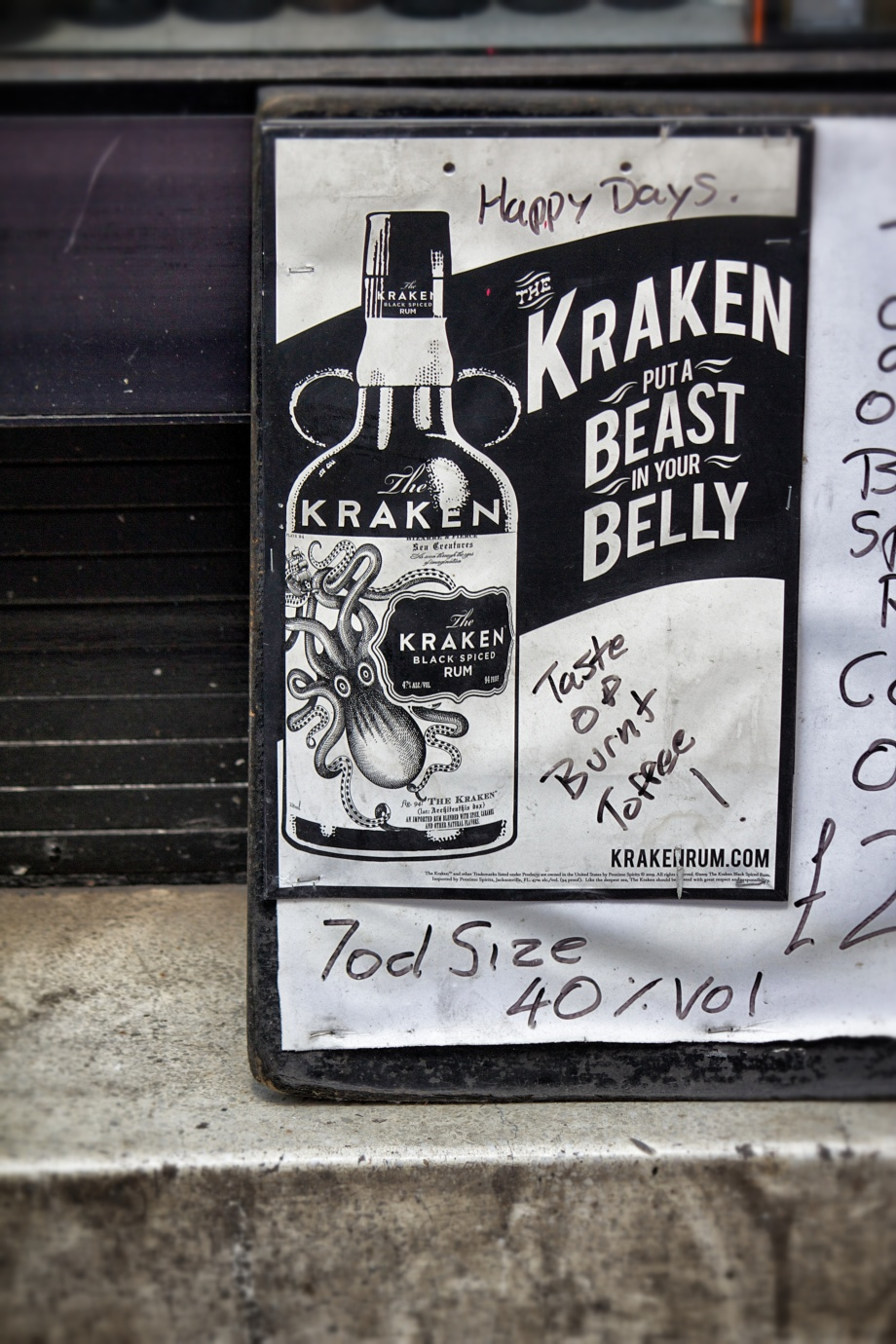 kraken put a beast in your belly