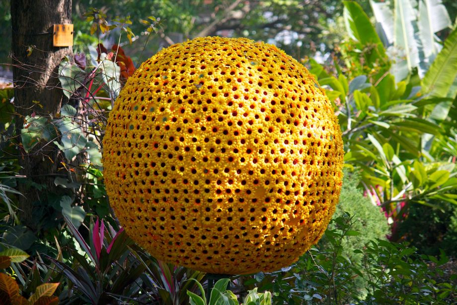 giant flower ball