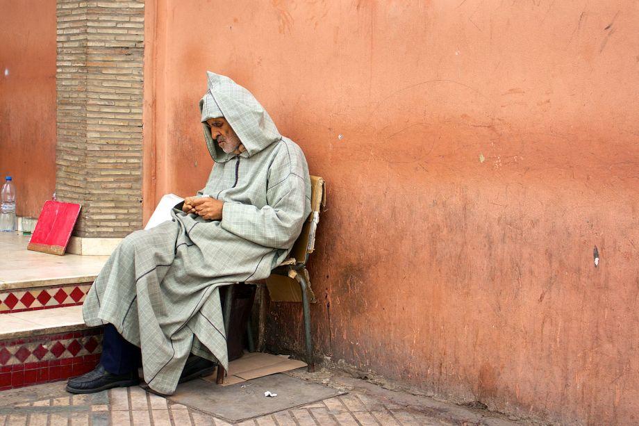marrakech old man