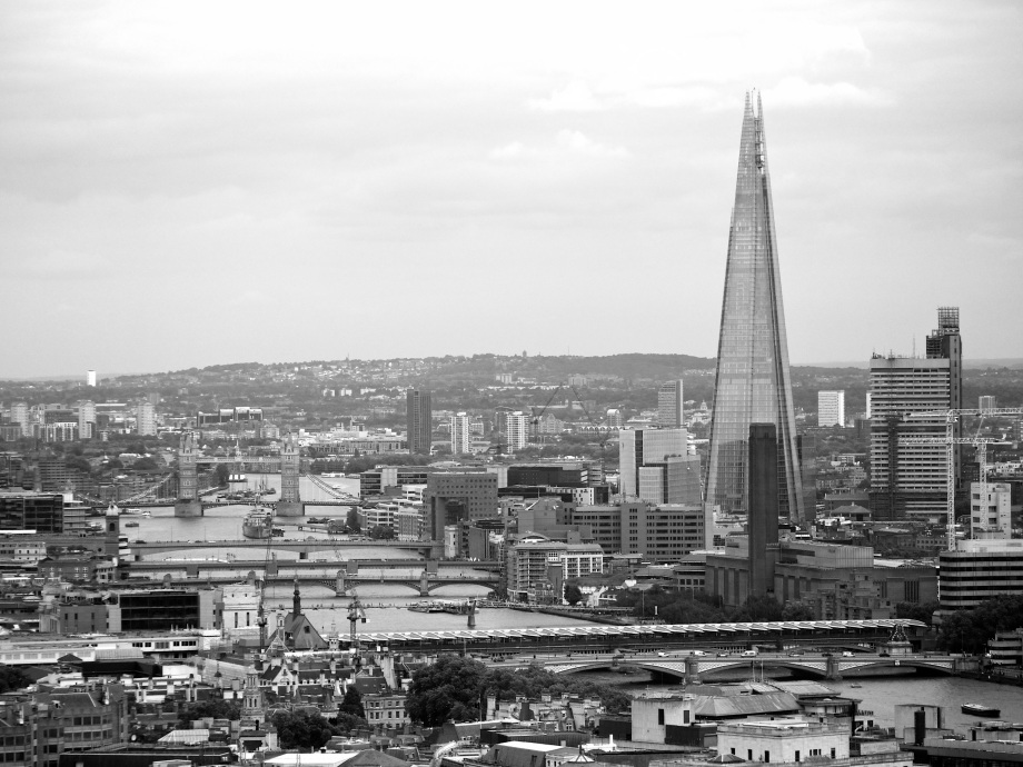 the shard from centrepoint