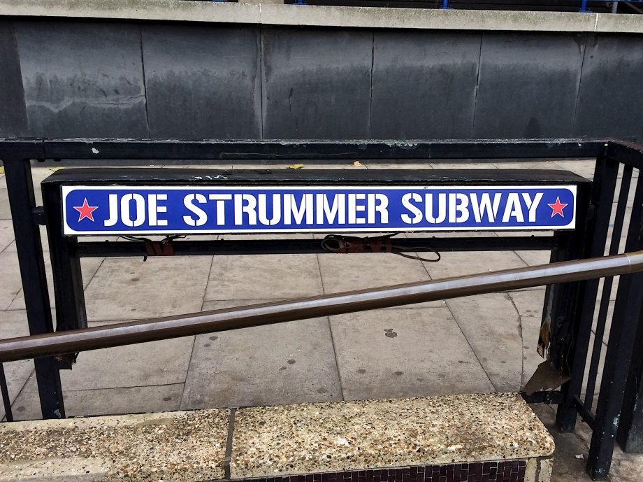 joe strummer subway
