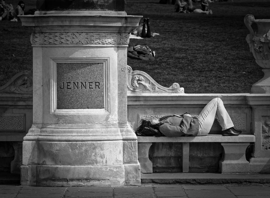 sleeping jenner