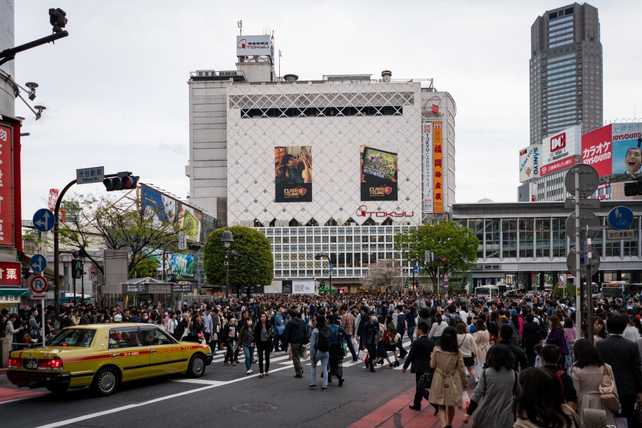 shibuya crossing 2