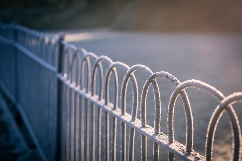 frosty-fence
