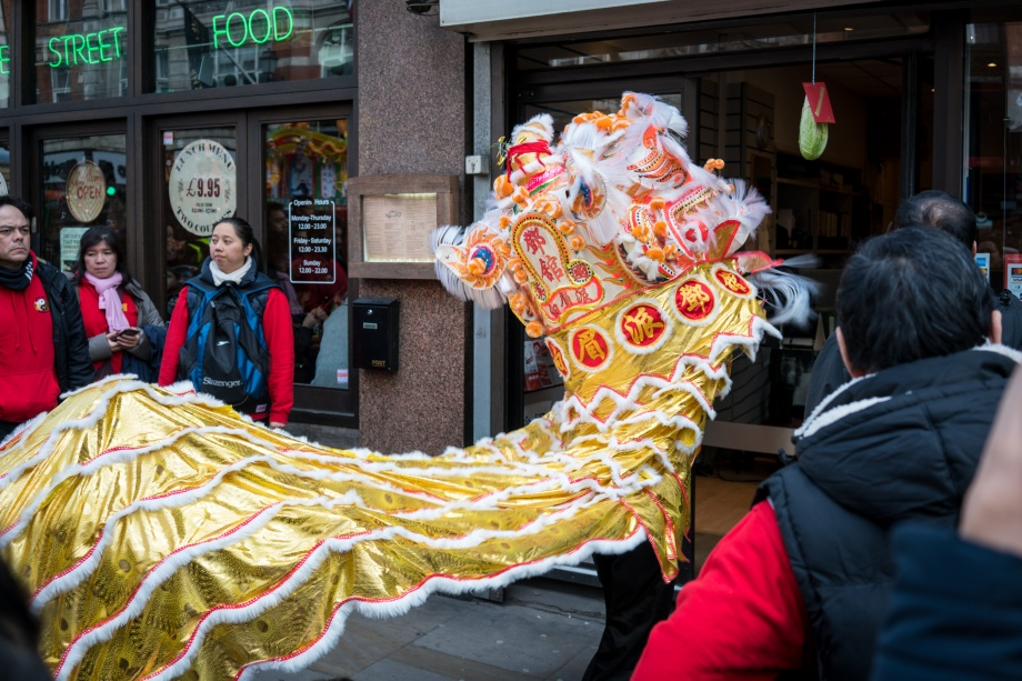 Chinese New Year in Soho